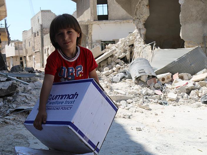 A Child In East Aleppo