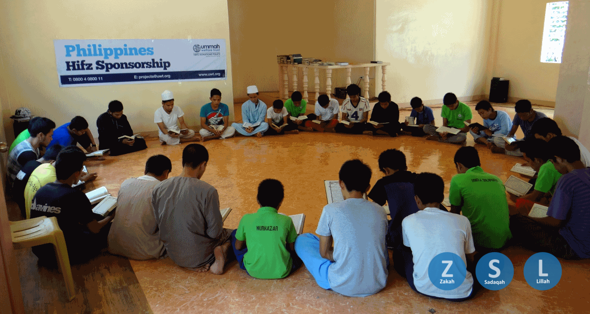 A quran class in the Philippines