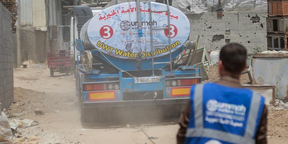 Water Distribution in Gaza