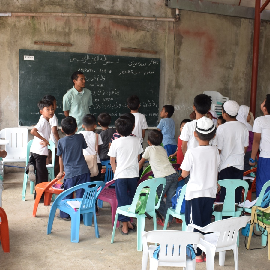 A madrassah in the Philippines