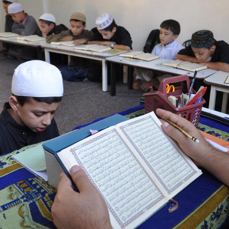 A Quran Class in Gaza