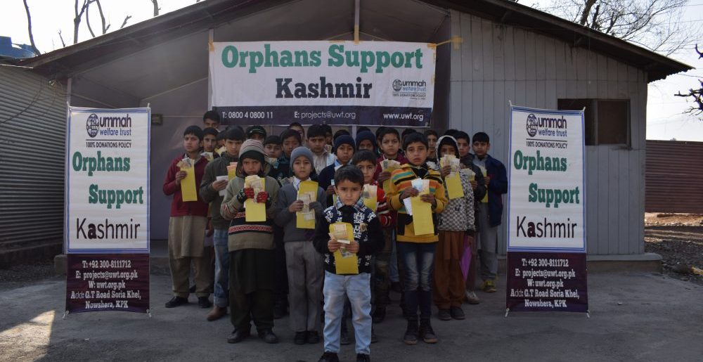 Supporting orphans in Kashimr