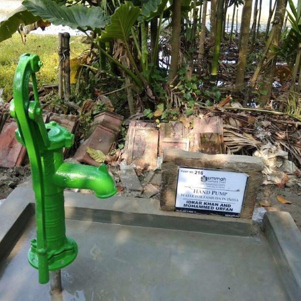 Hand pump in India