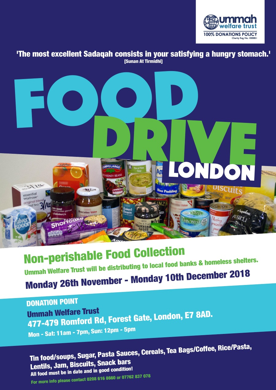 Food Drive For London
