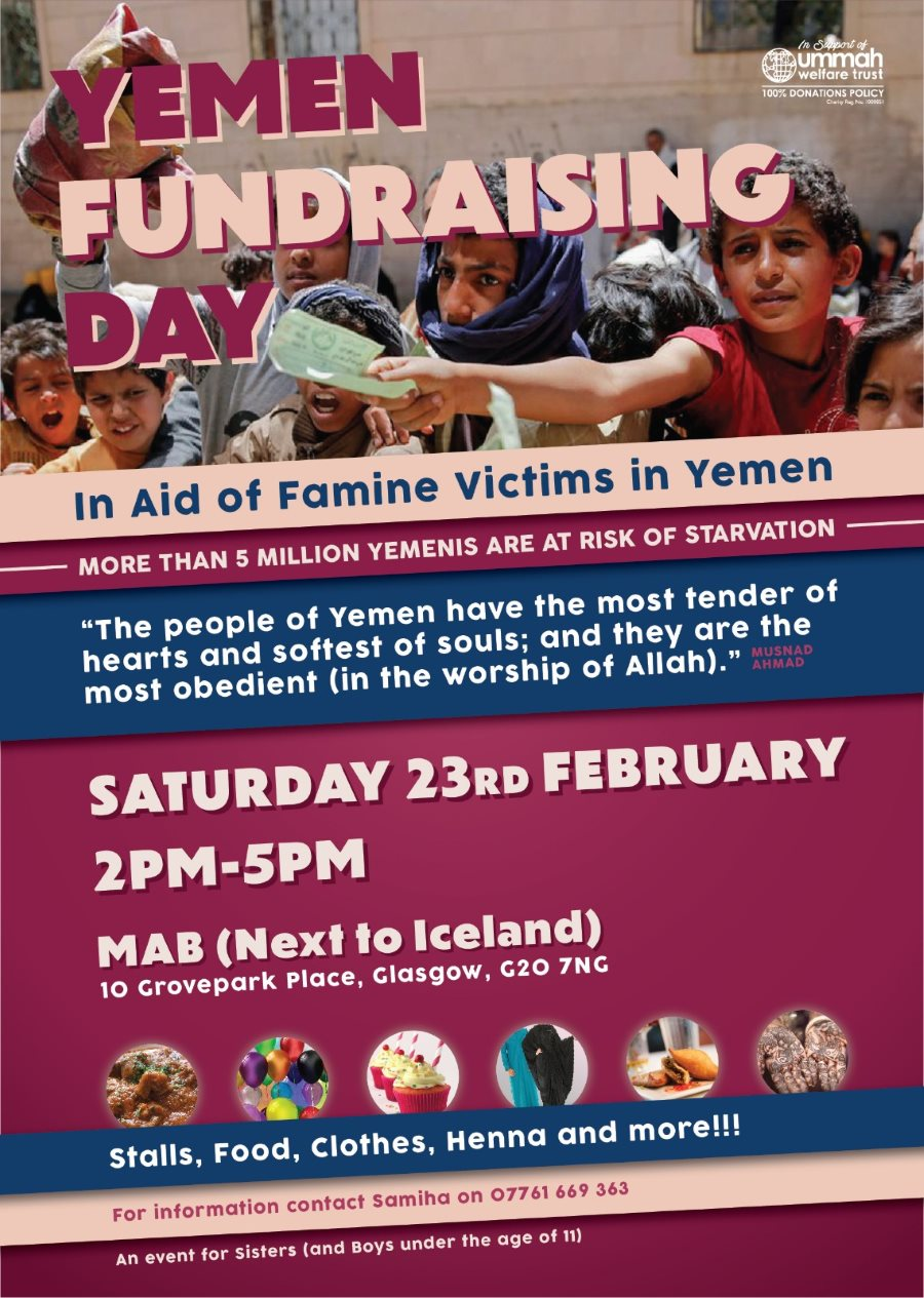 Glasgow Sisters Event