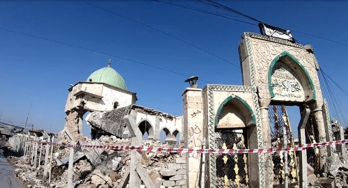 Mosul Masjid Destruction