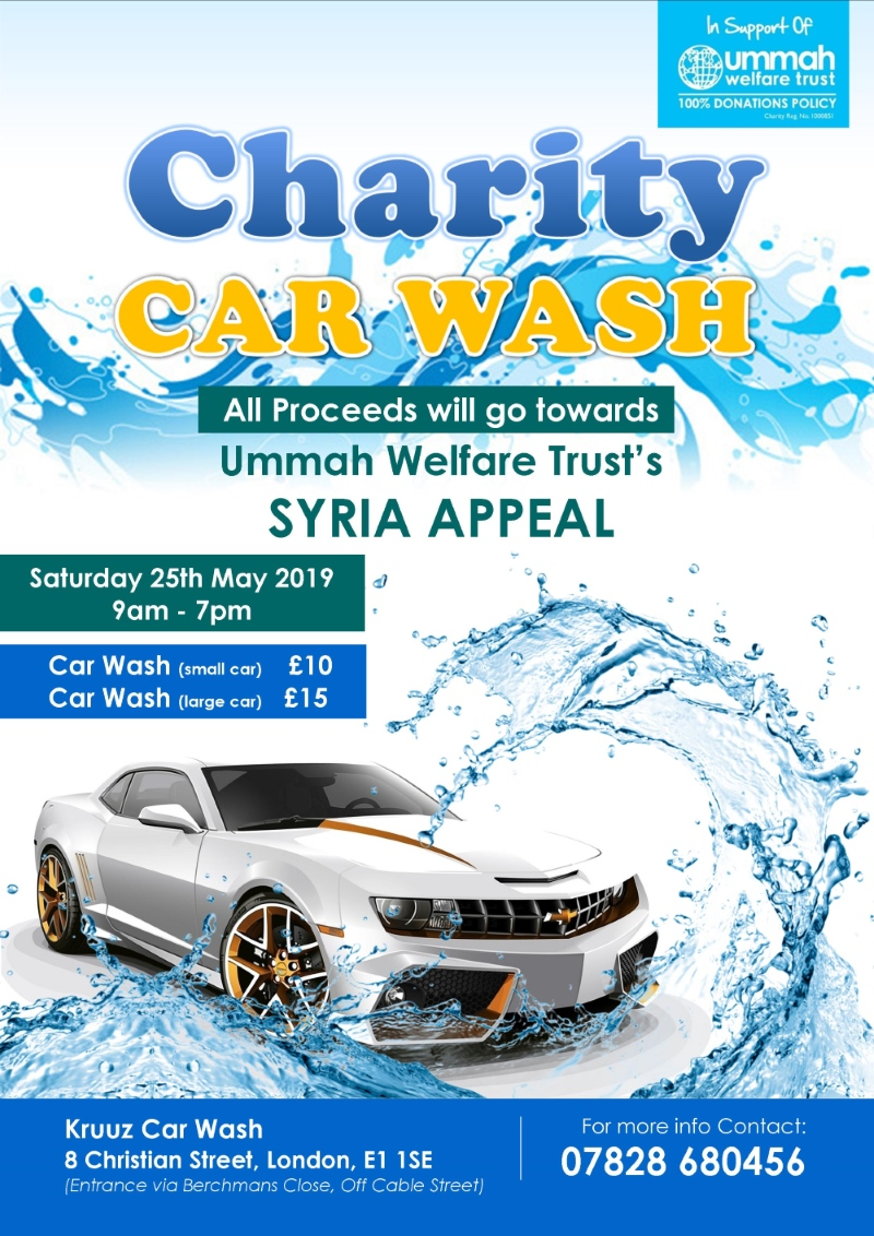 Charity Car Wash London