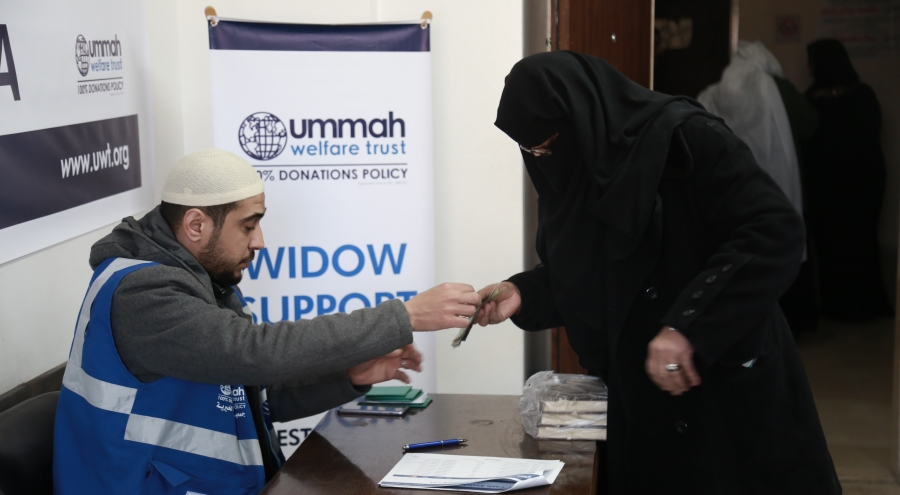Helping Gaza's Widows