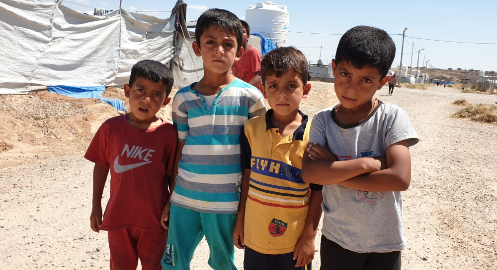Mosul's Displaced Children