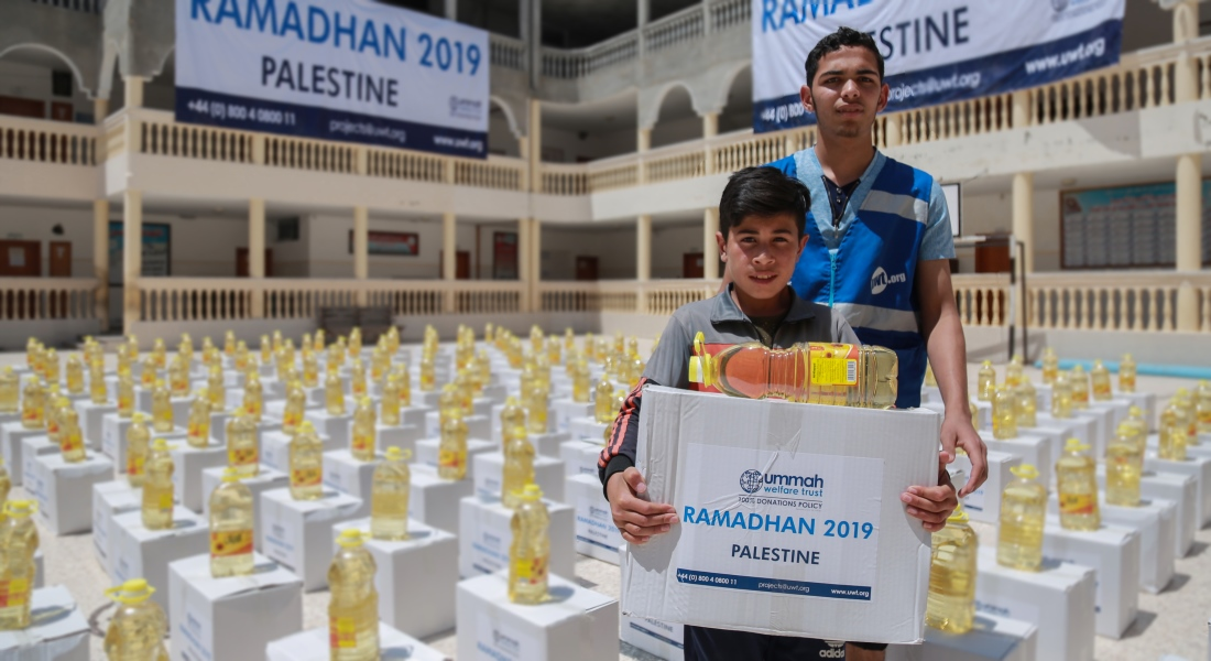Providing Food And Water In Gaza: Ramadhan 2019