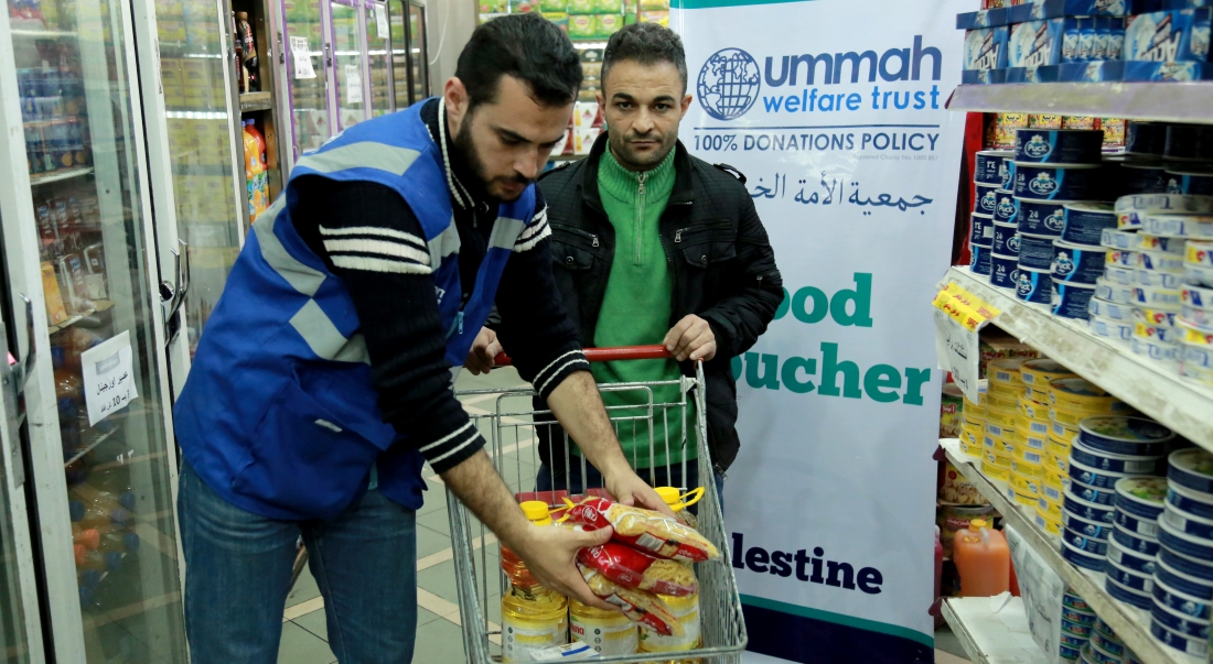 Food Voucher's For Gaza's Families