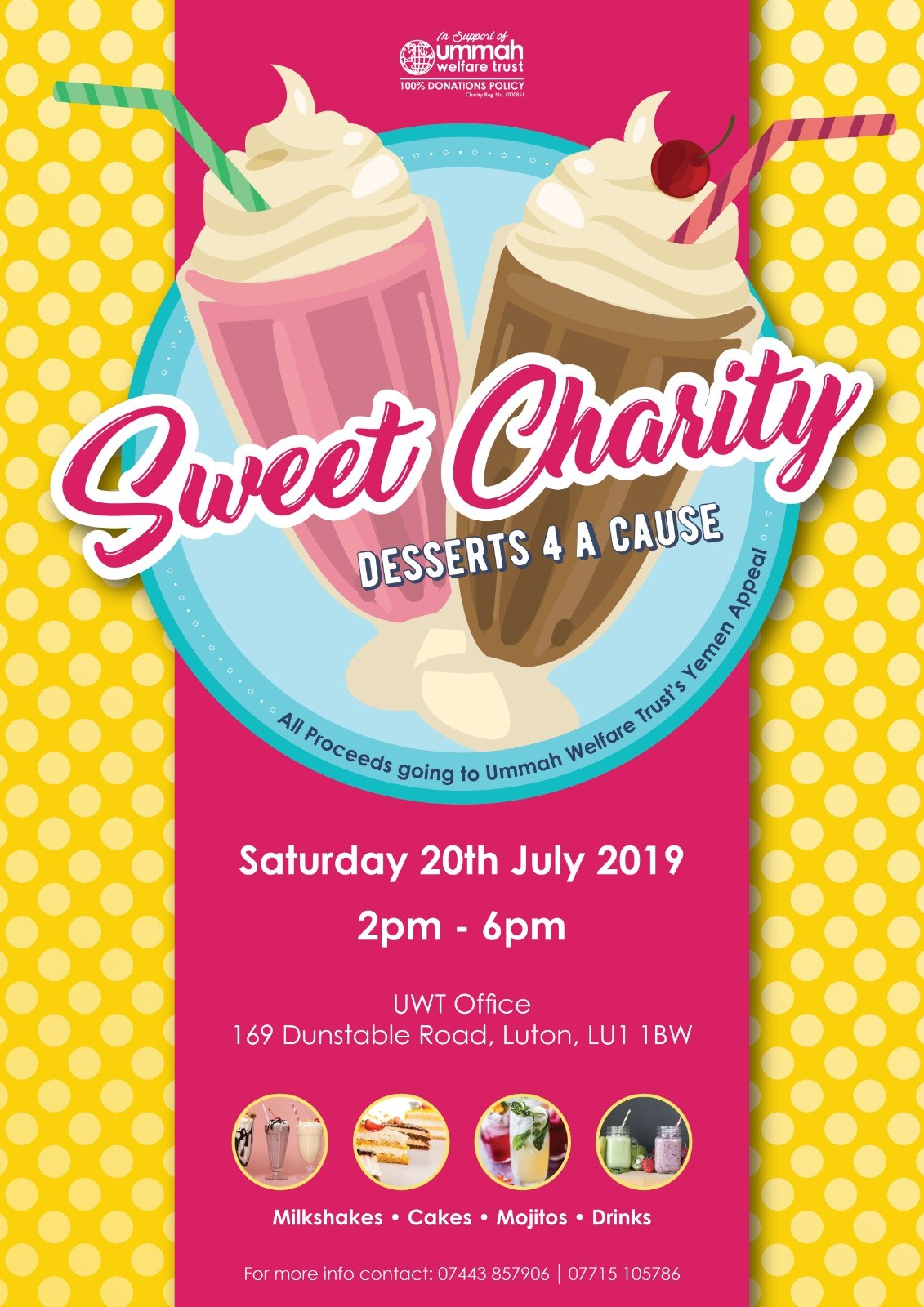 Sweet Charity Event