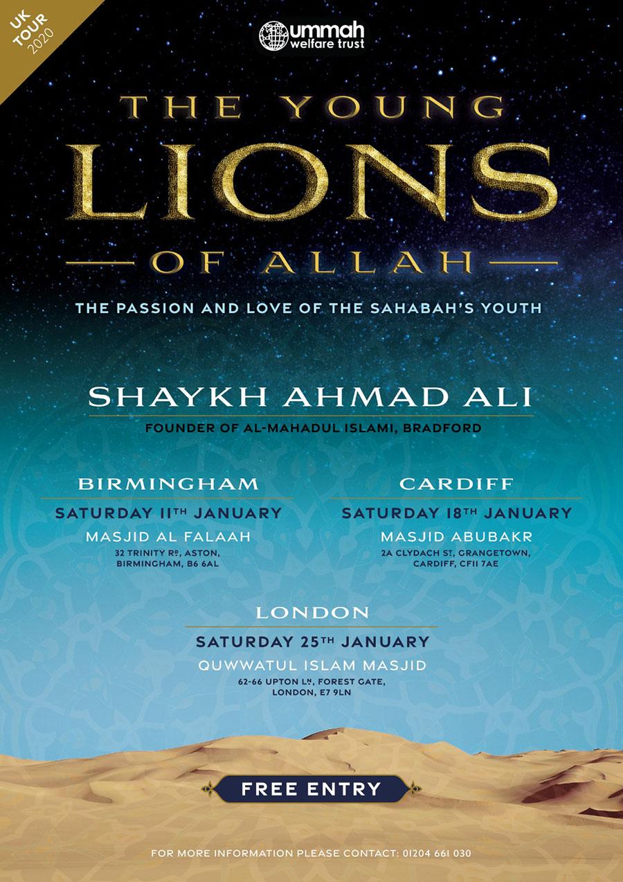 Shaykh Ahmad Ali Tour