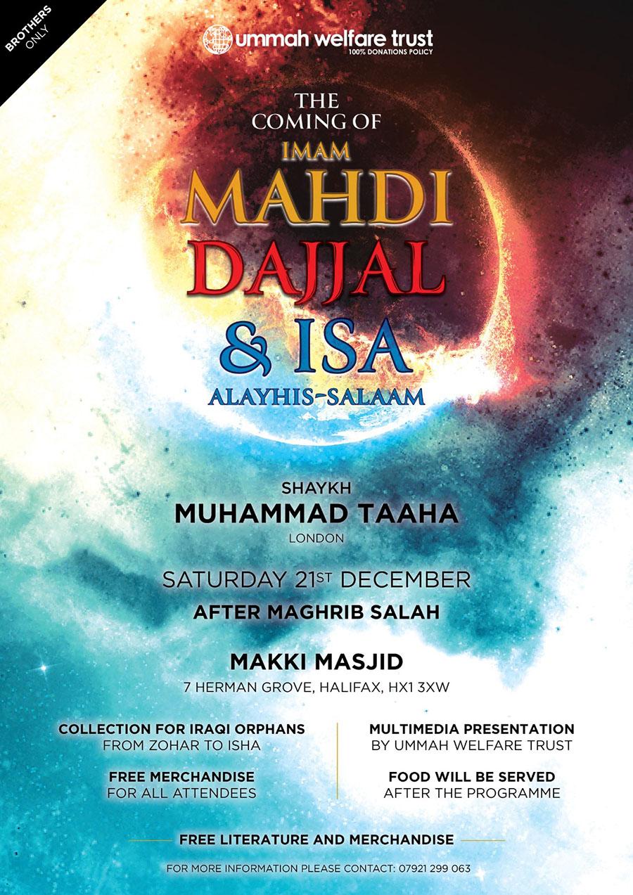 The Coming Of Imam Mahdi Halifax