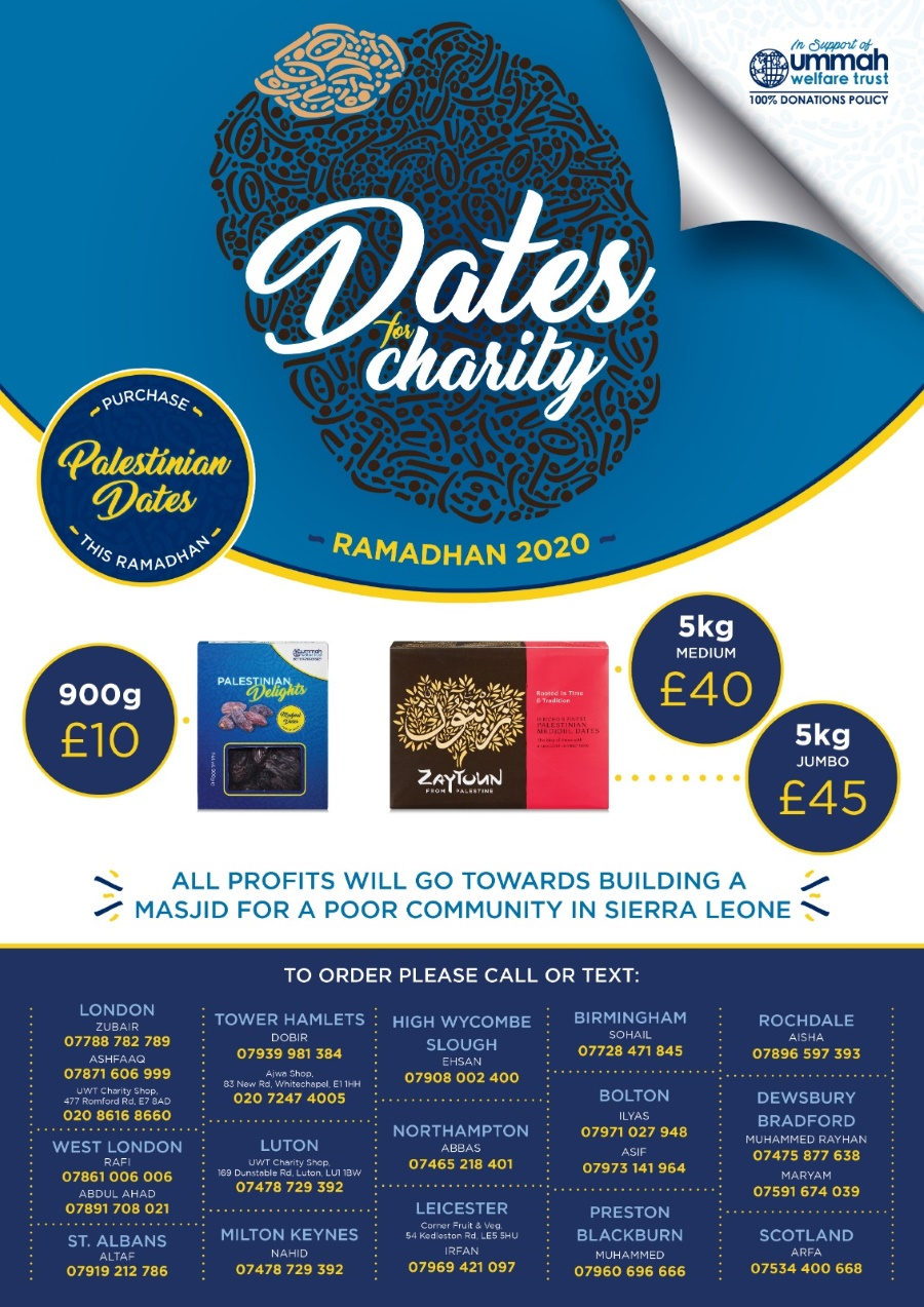 Dates For Ramadhan