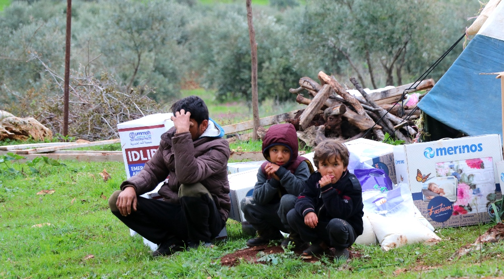 Food And Blankets For Idlib's Displaced