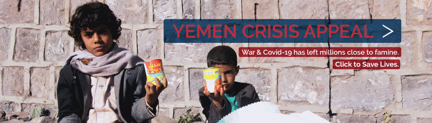 Yemen Crisis Appeal to Feed Hungry Children