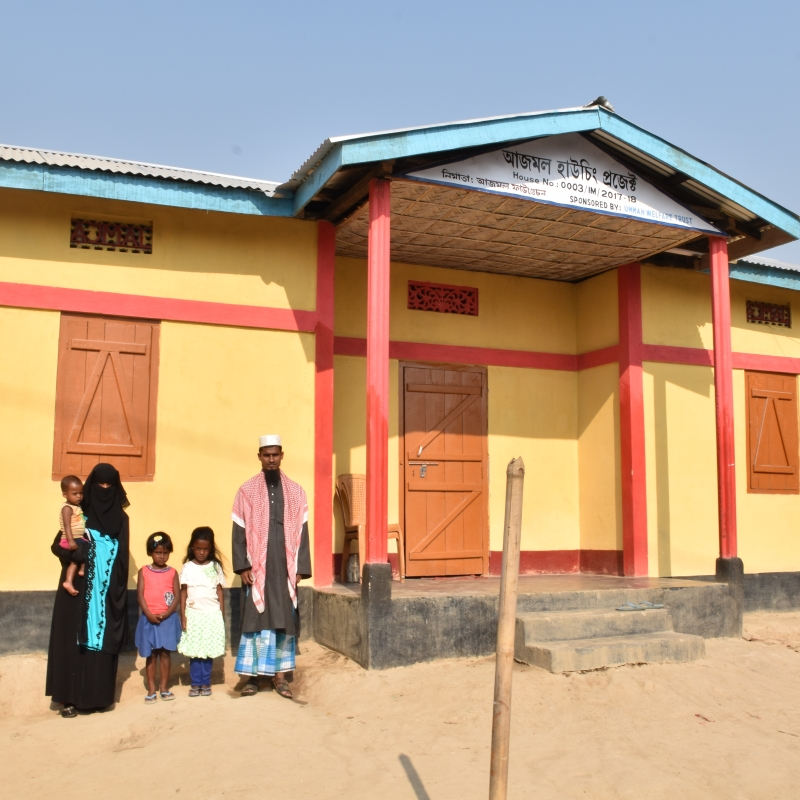A new house in Assam