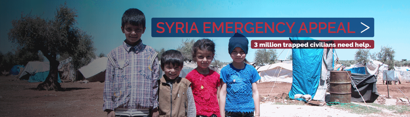 Syria Emergency Appeal to help Idlib's Displaced Civilians