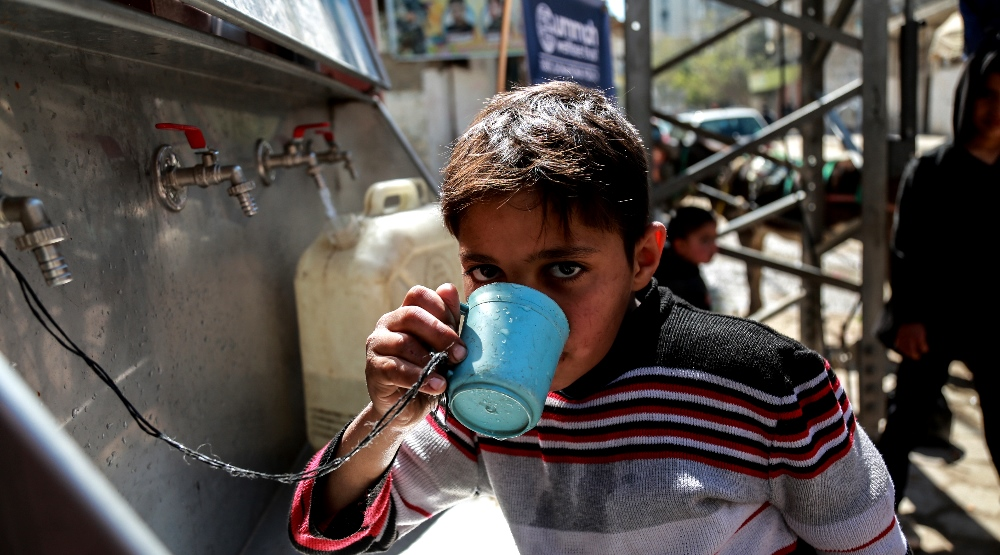 Drinkable Water For Gaza's Residents