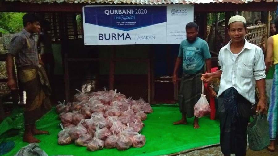 Qurbani Distributions In Arakan, Myanmar