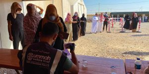 Camps in Iraq for Mosul Refugees