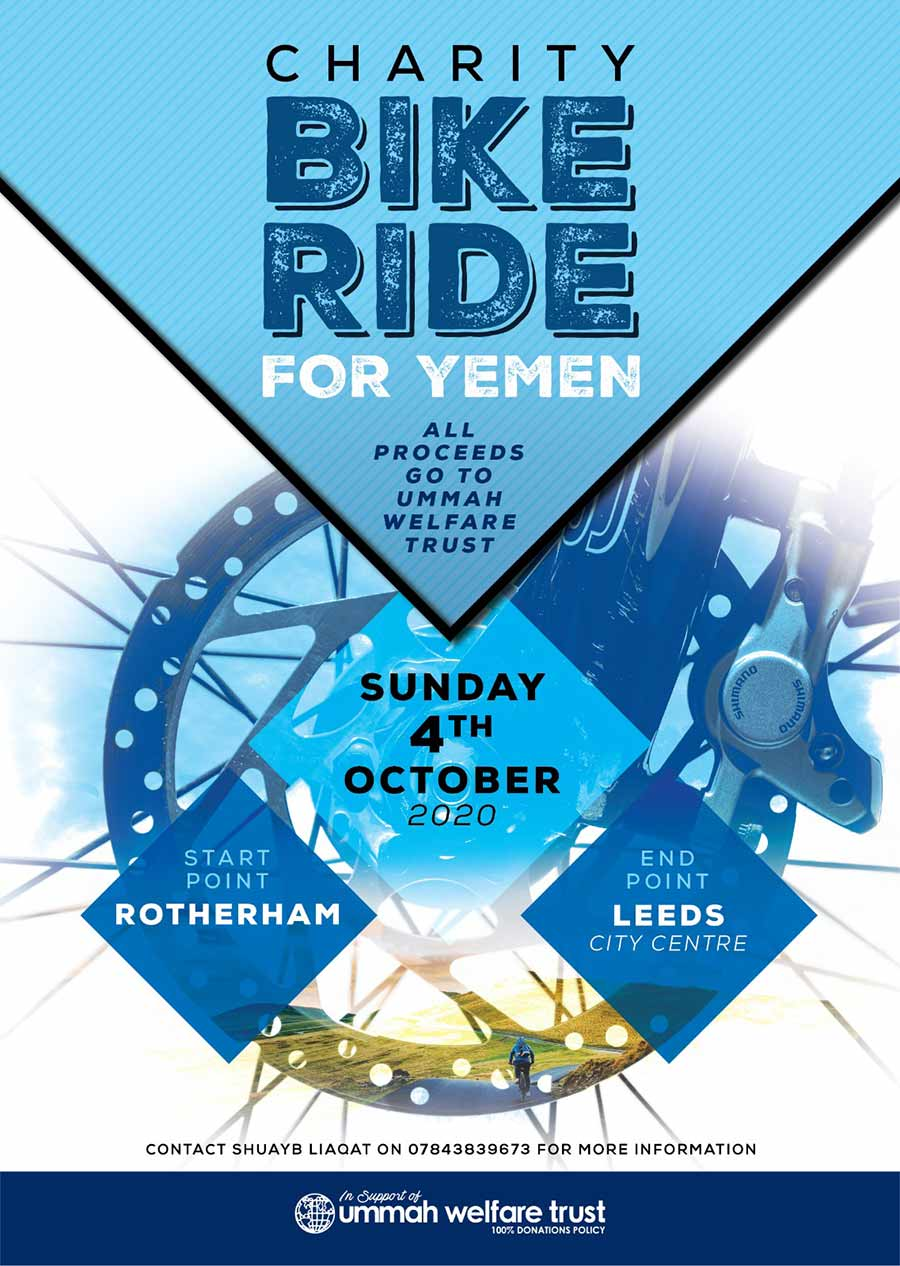 Charity Bike Ride for Yemen
