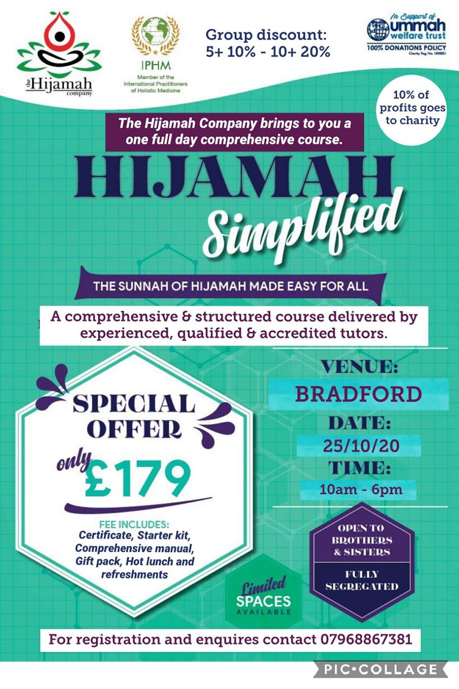 A Hijamah Course for Charity