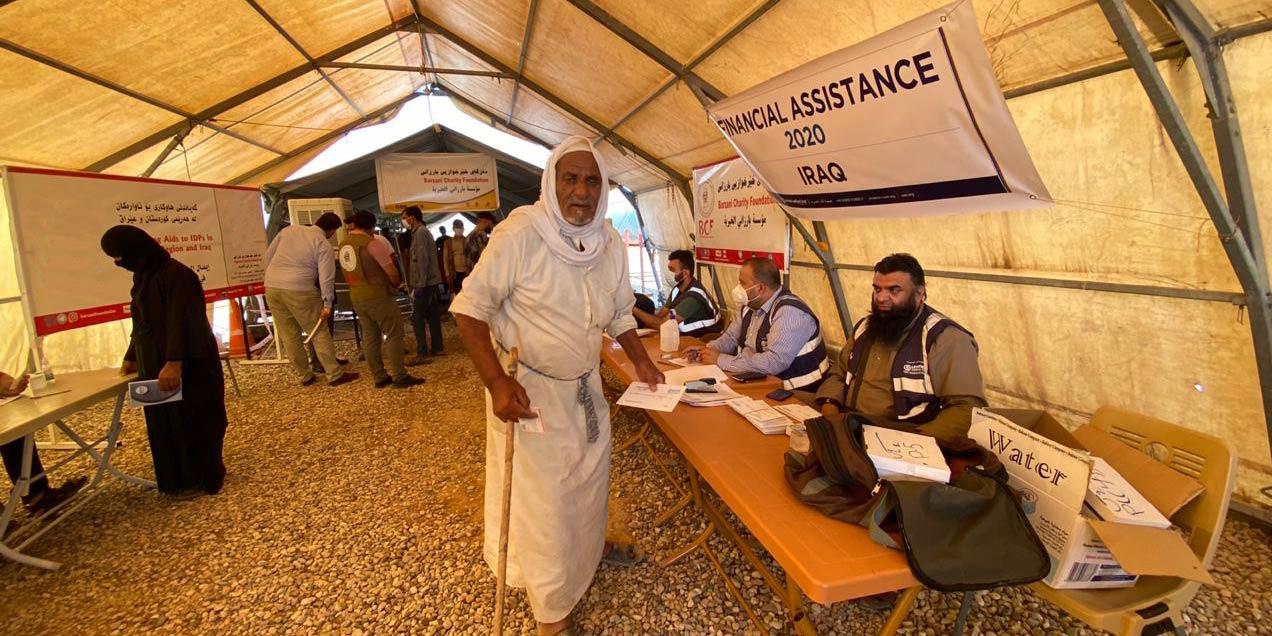 Financial Assistance For Iraq's Displaced