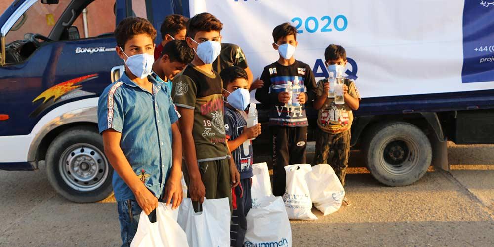 Covid Relief for Children in Iraq