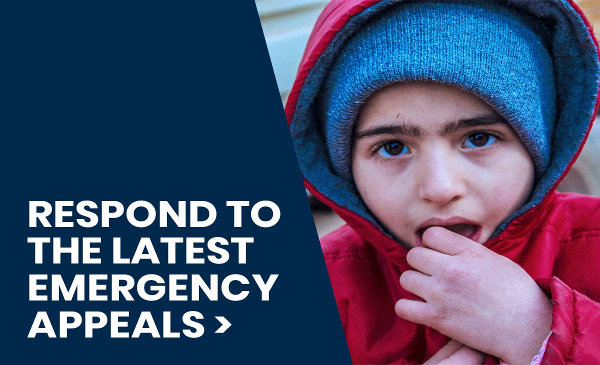Respond to Emergency Appeals around the World