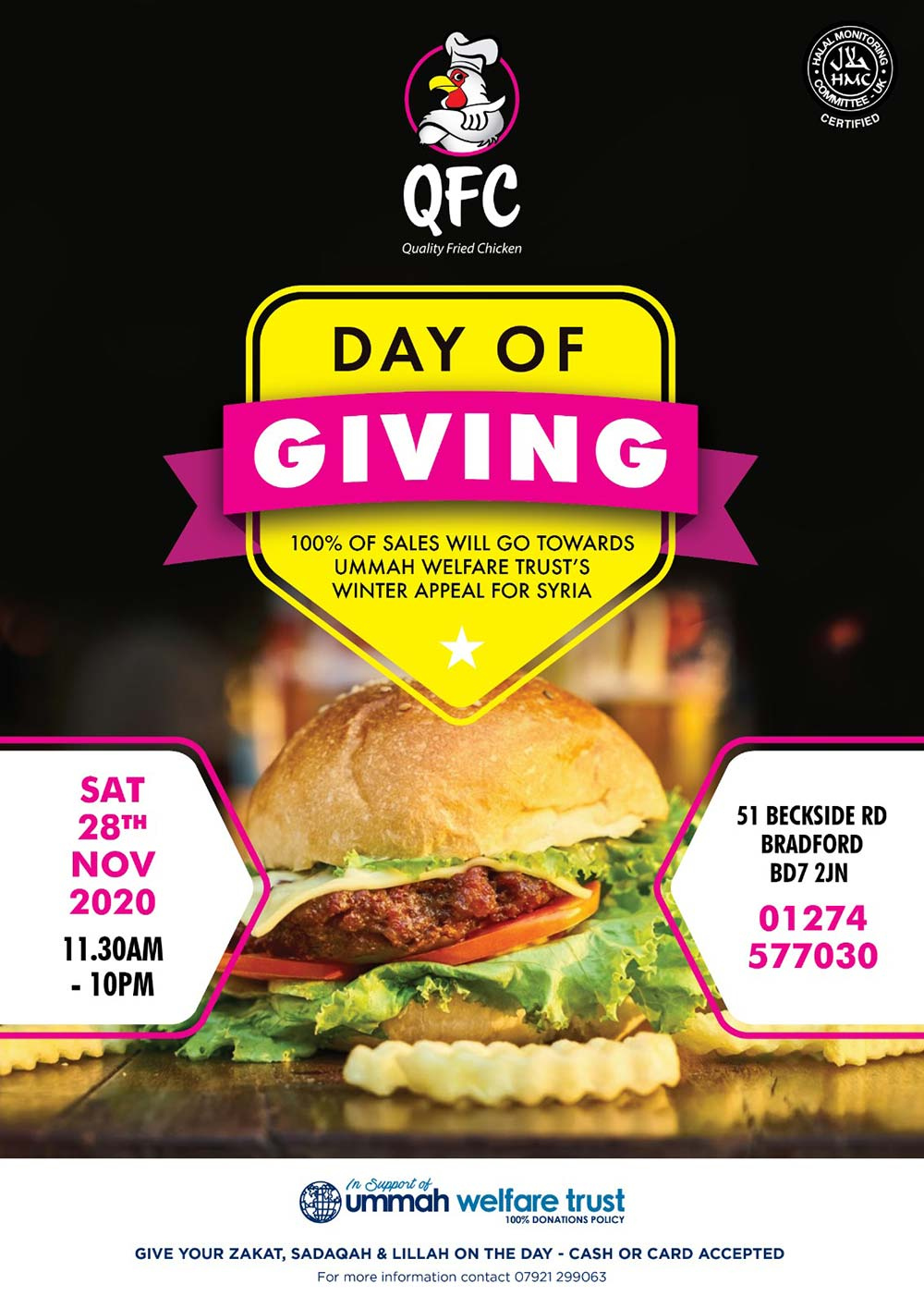 QFC Bradford Charity Day of Giving