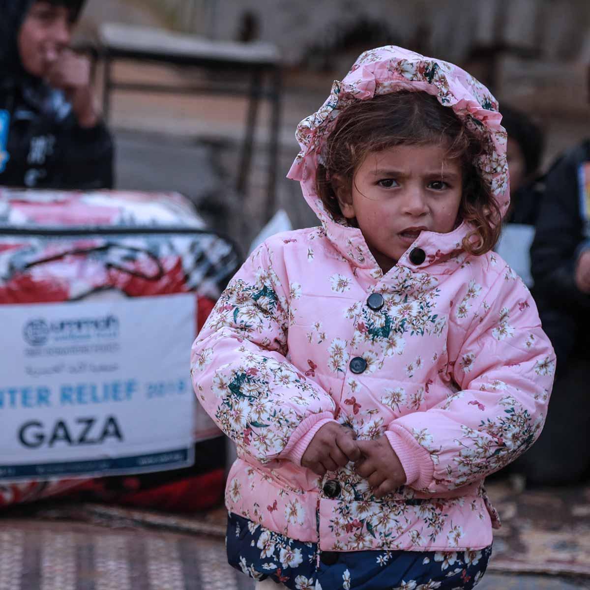 A Girl in Gaza in Winter