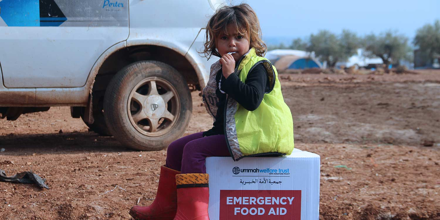 Displaced Girl In Syria's Azaz Camp