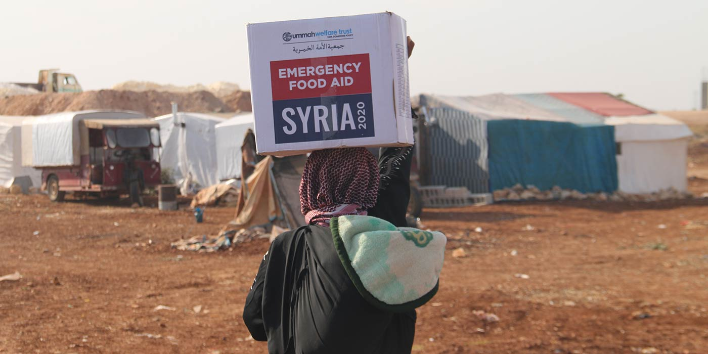 Food Assistance For A Mother In Syria