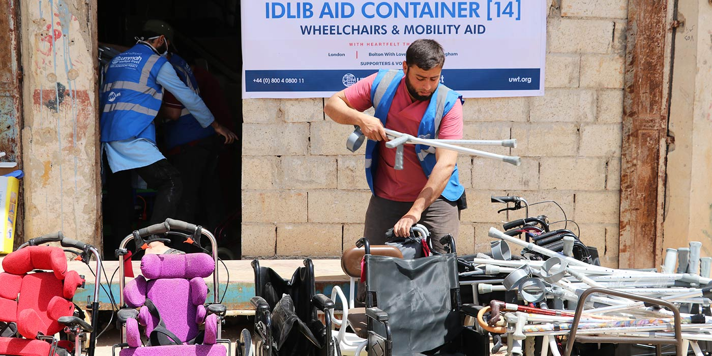 Wheelchairs For Syria's Displaced