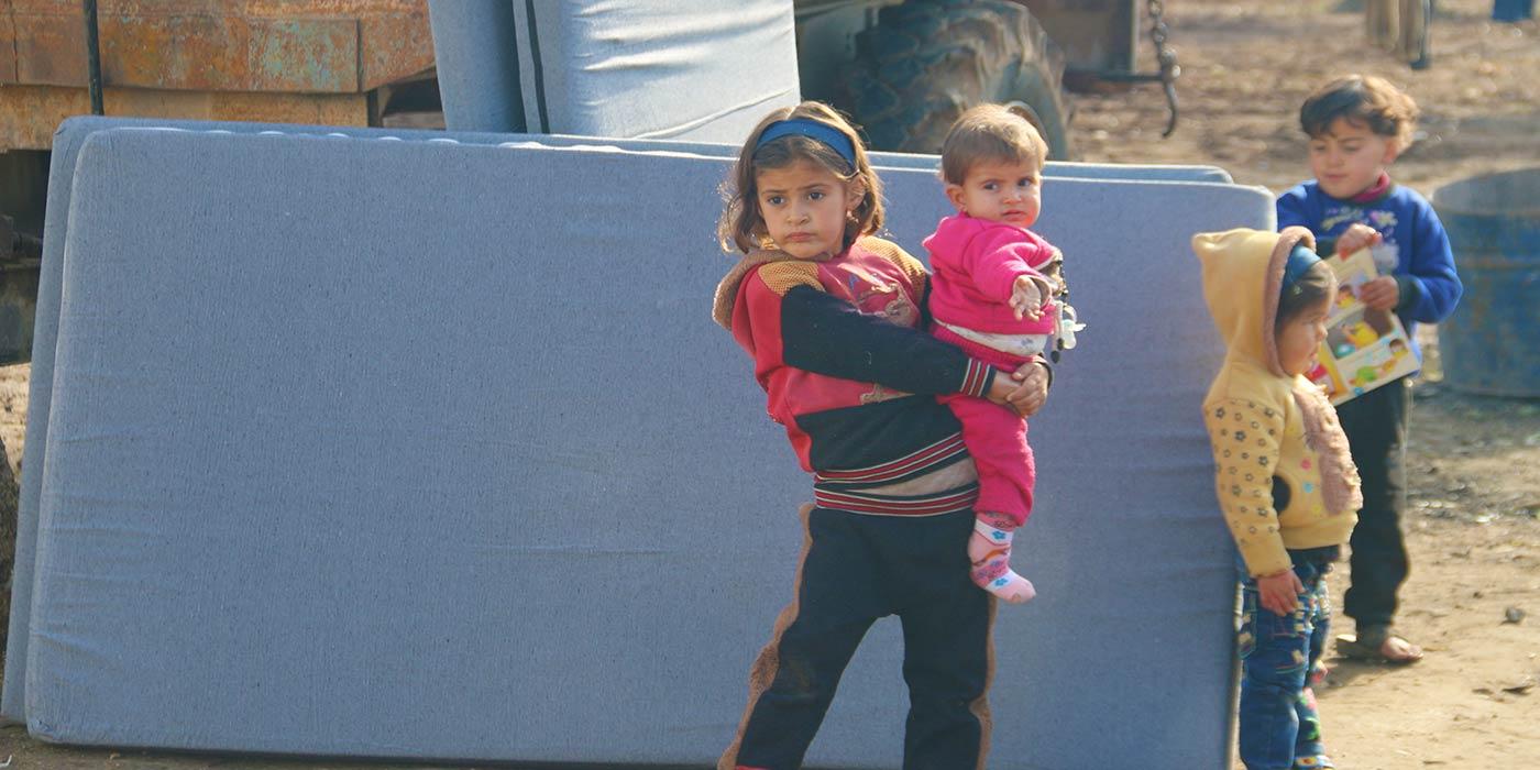 Displaced Children in Azaz Syria