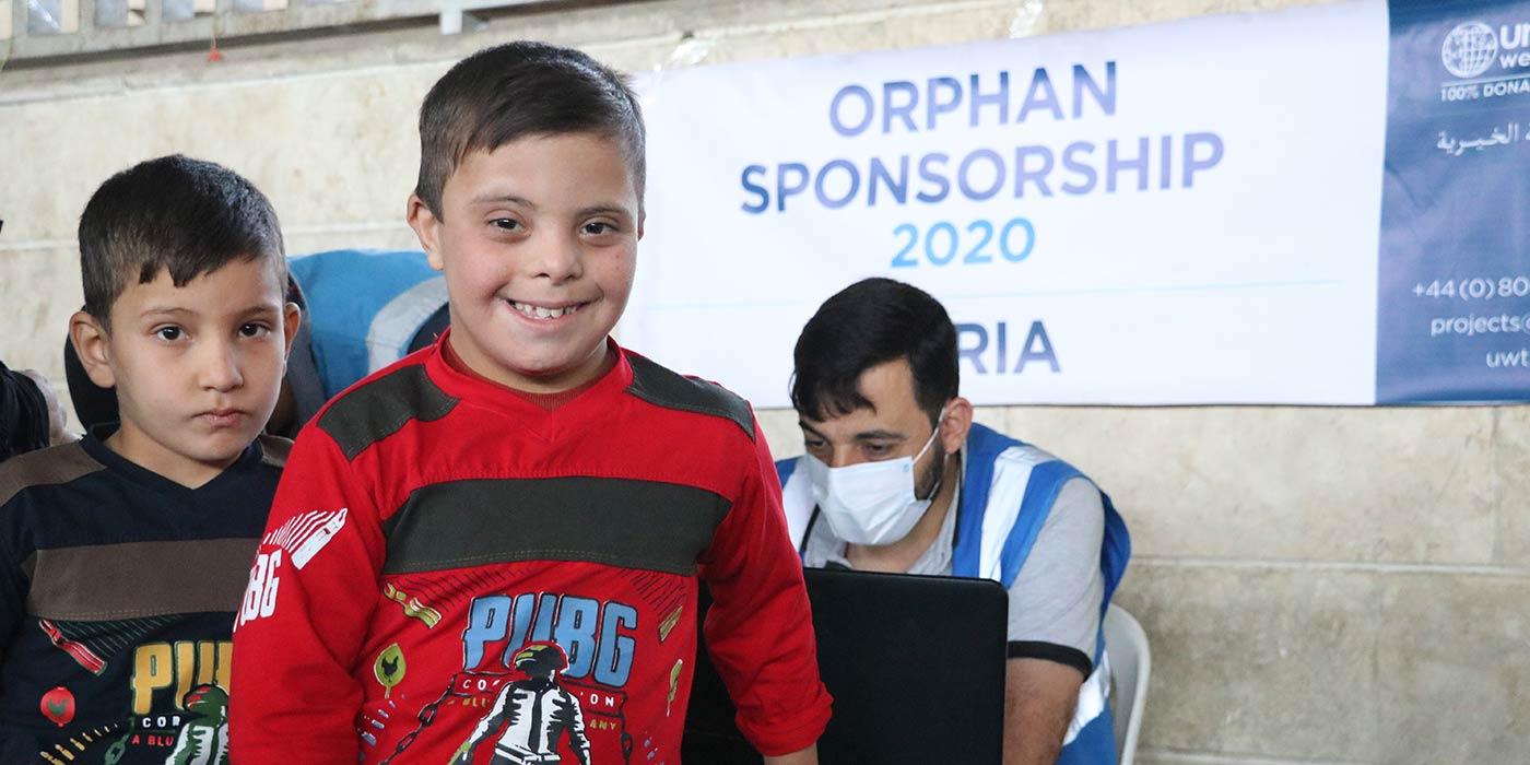 Orphaned Boy in Idlib Syria