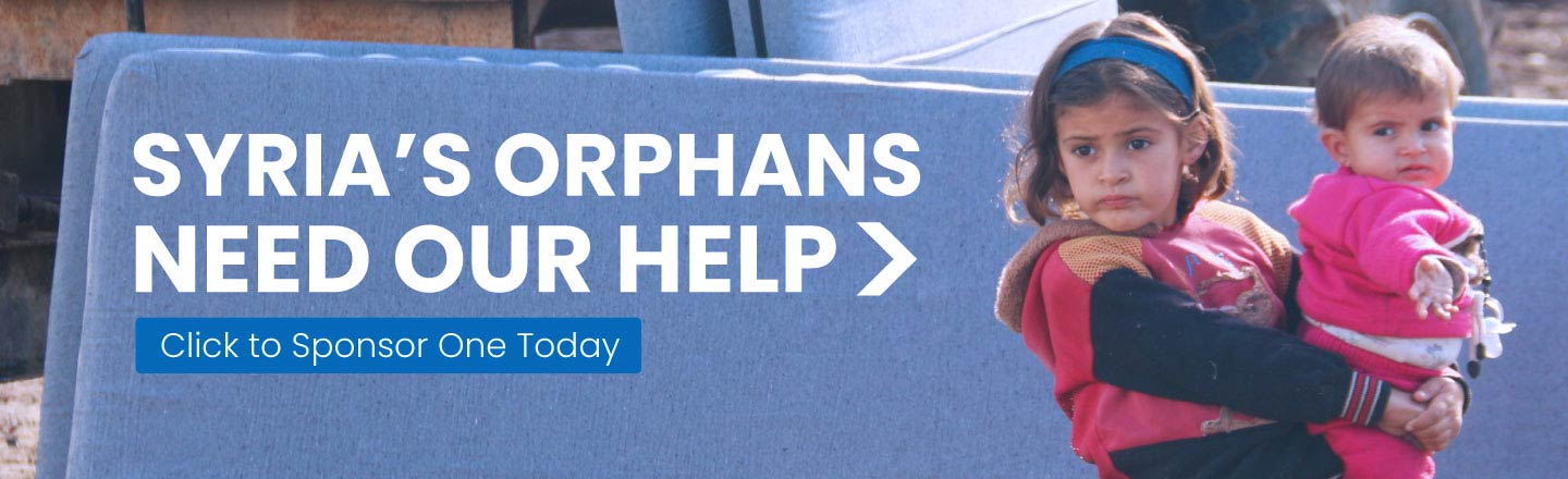 Sponsor an orphan in Syria