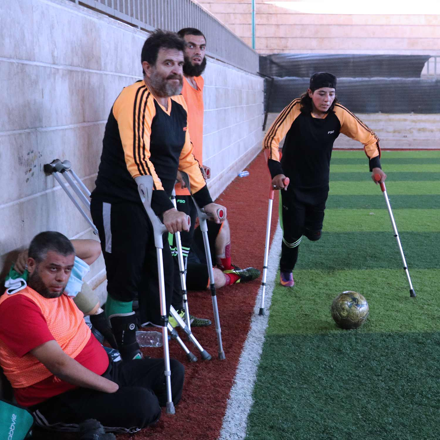 Injured and Amputees Syria