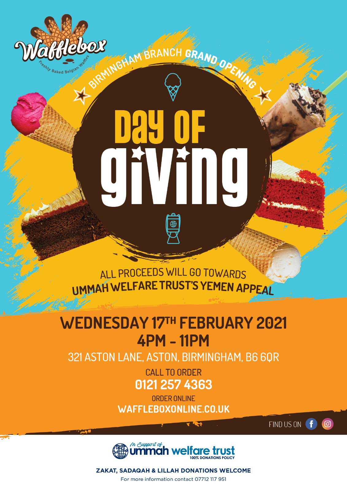 Wafflebox Charity Day of Giving