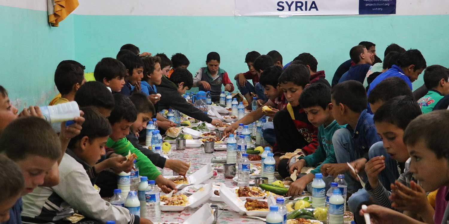 A Walima for Orphans in Syria