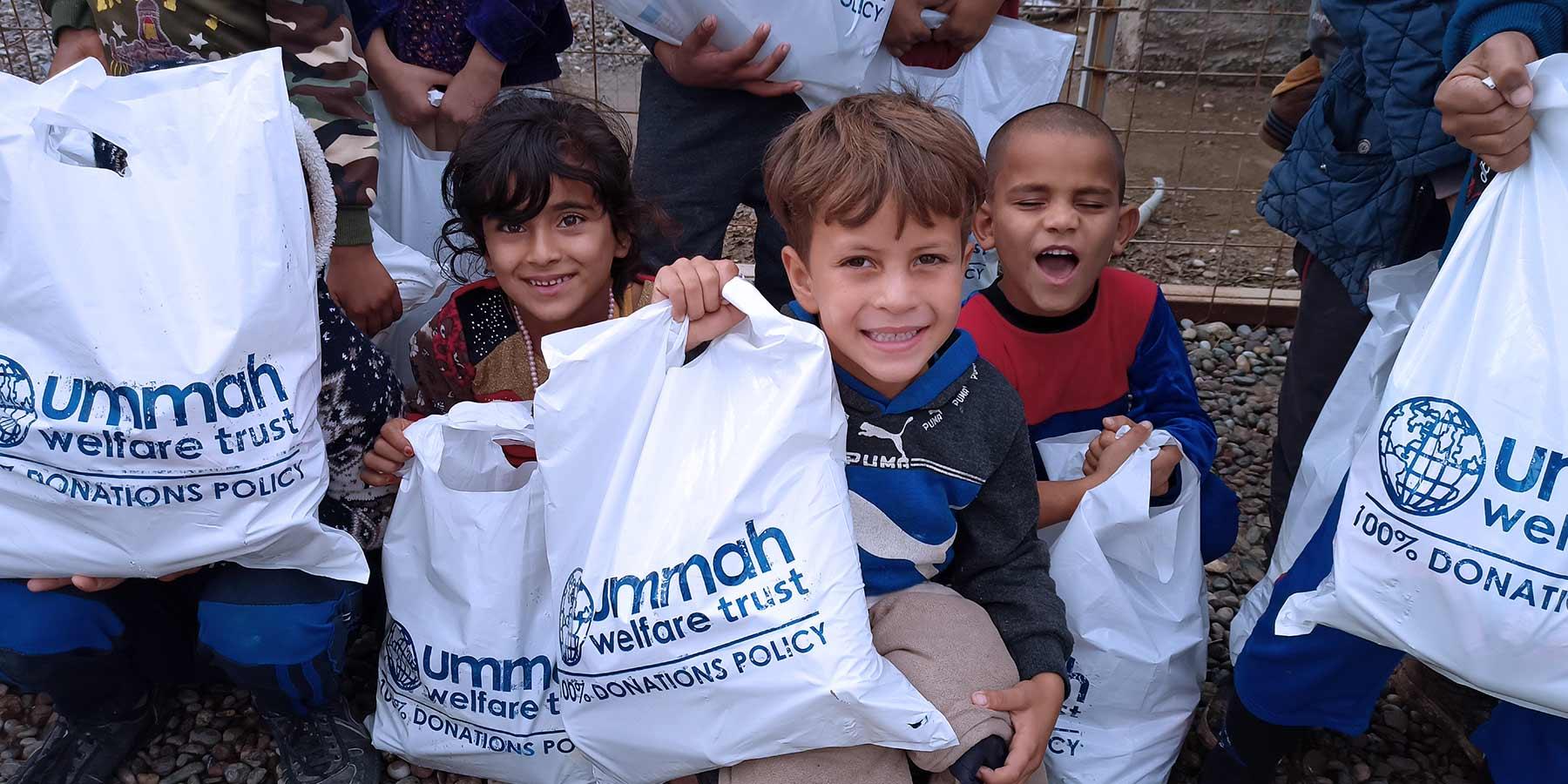 Hygiene Supplies Children Iraq