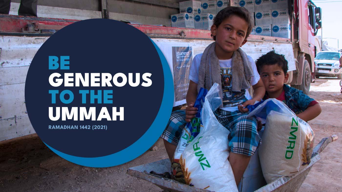 Be Generous to the Ummah Ramadhan Appeal