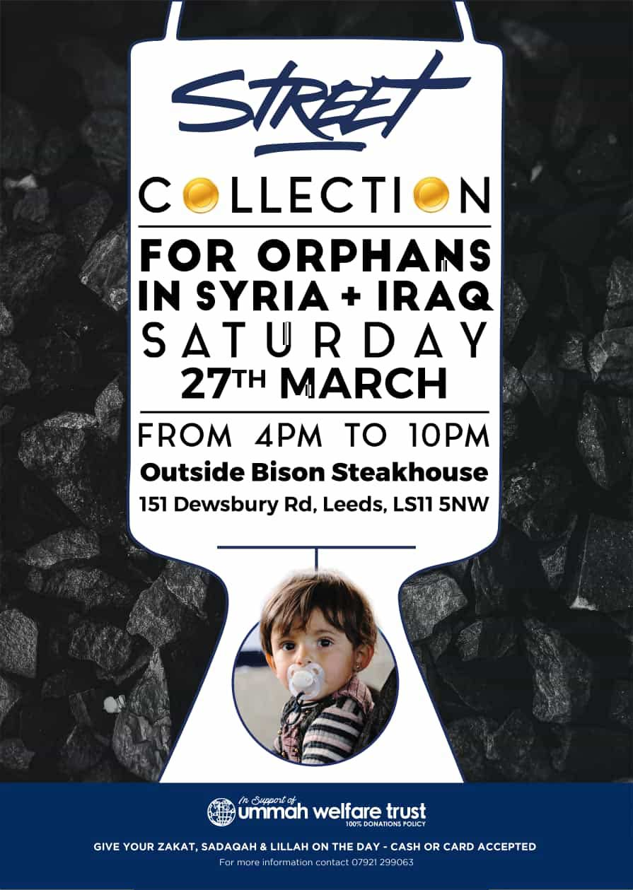 Street Collection for Charity in Leeds