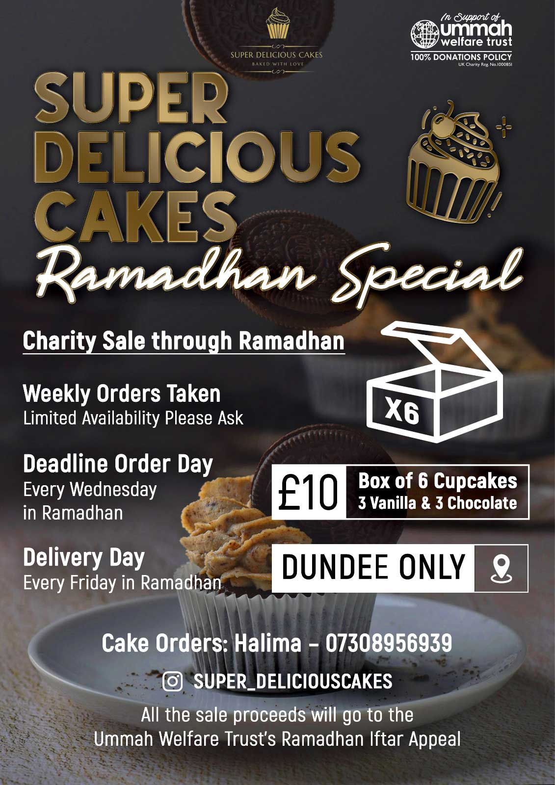 Charity Cake Sale Dundee