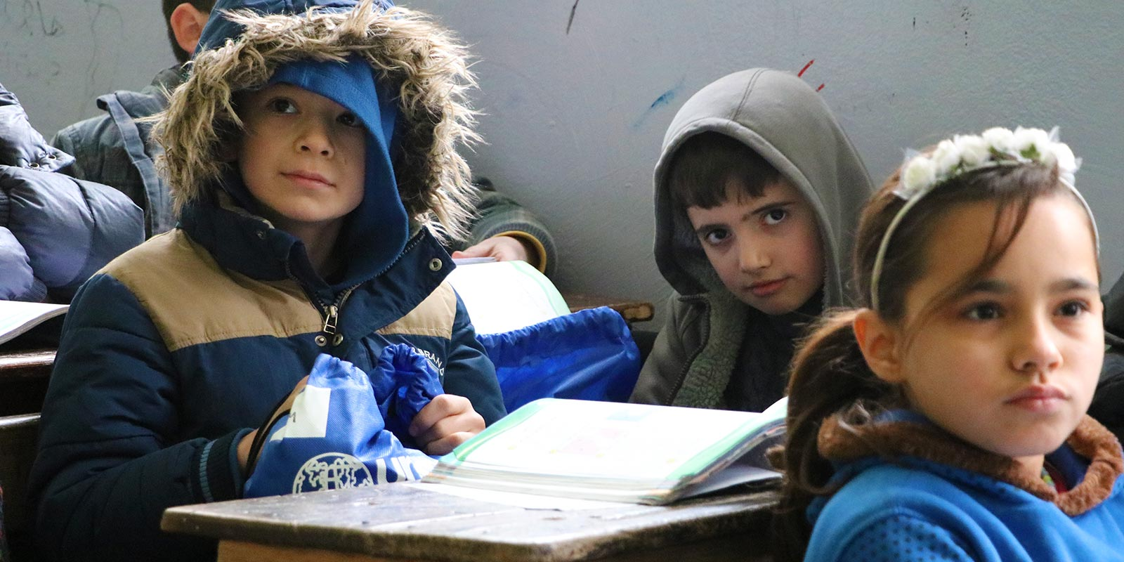 Syria Child in Class