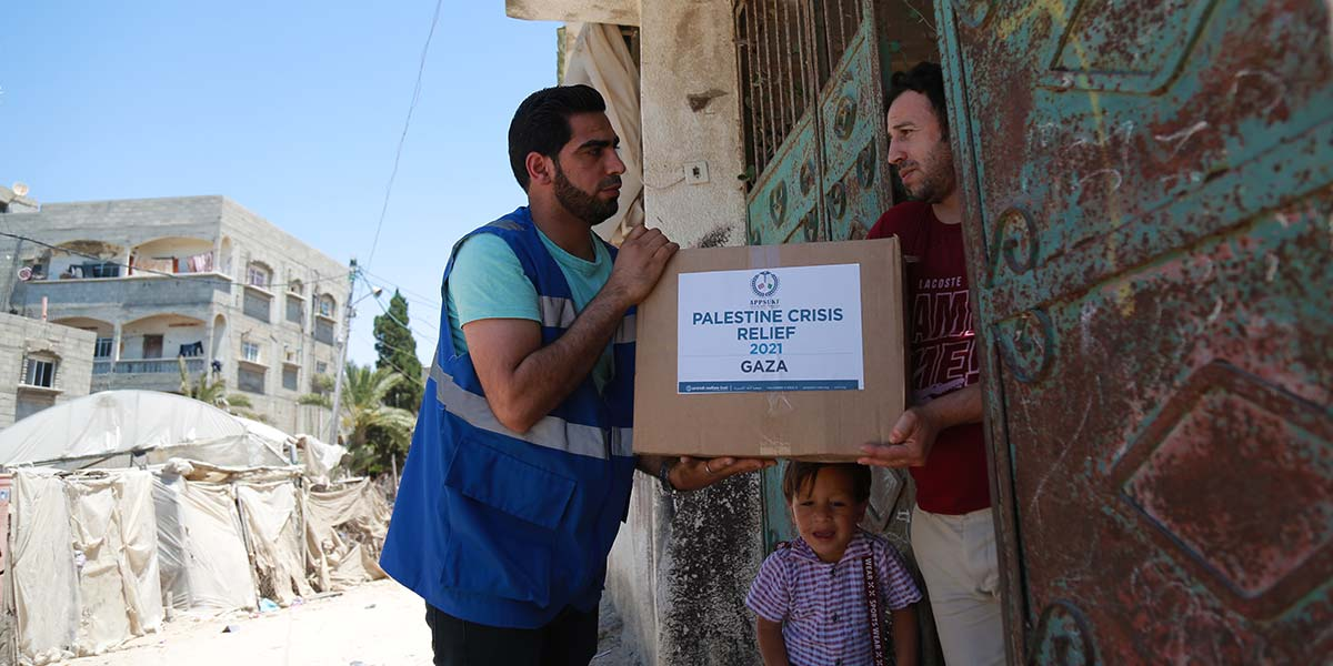 Food Relief In Gaza