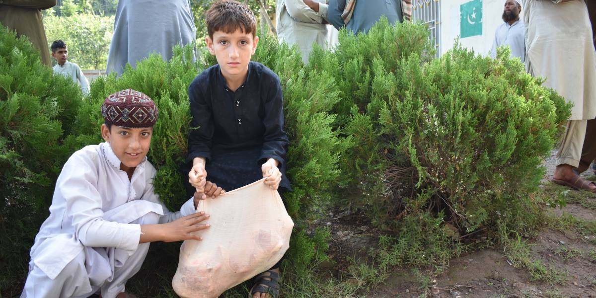 Qurbani 2021 Children Pakistan