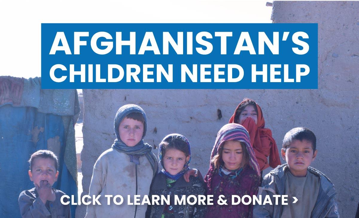 Afghanistan's Children Need Help